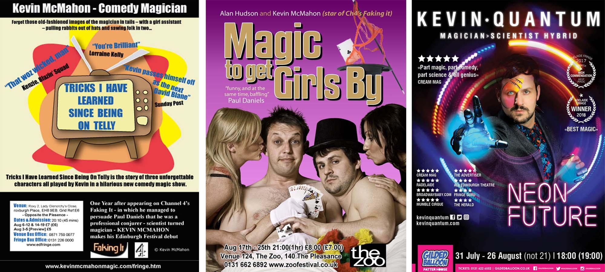 How to Write a Magic Show - Kevin Quantum Magician